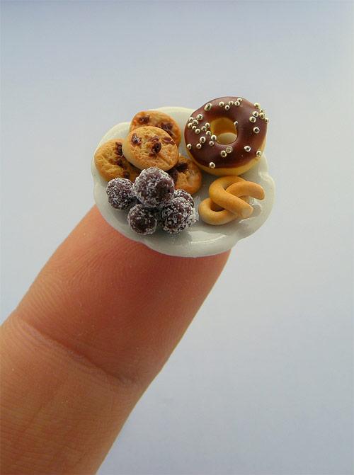 Handmade miniature sculptures by Israeli artist Shay Aaron