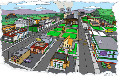 Matt Groening Reveals the Real Location of The Simpsons' Springfield