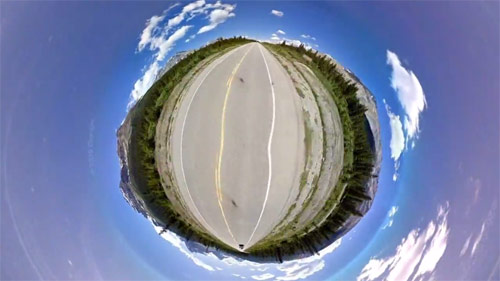 A Ghost Train Chemin Vert Google Panos music video