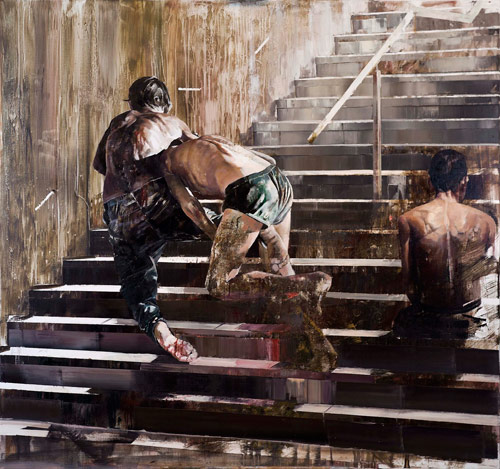 Artist painter Dan Voinea paintings