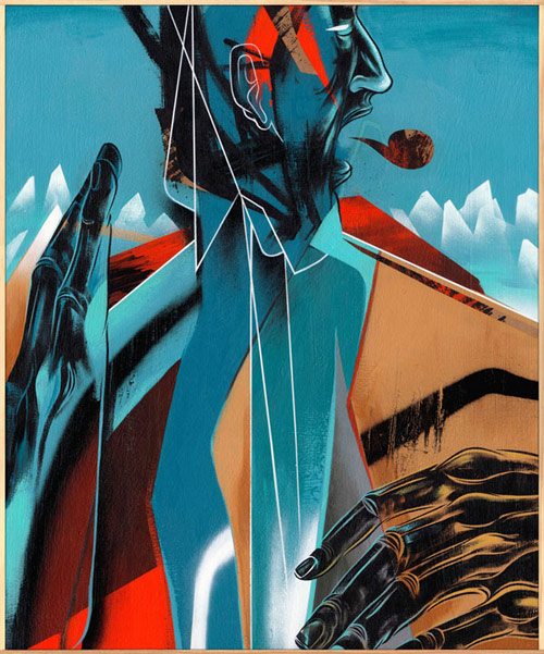 Artist painter Dave Kinsey