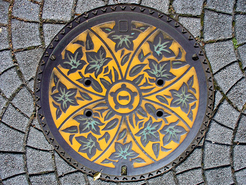 Beautiful Japanese Manhole Covers