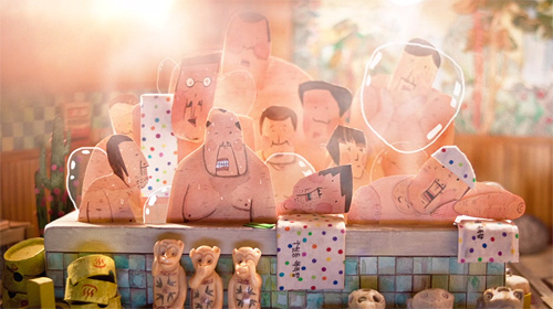 38-39°C stop-motion animation by Kangmin Kim
