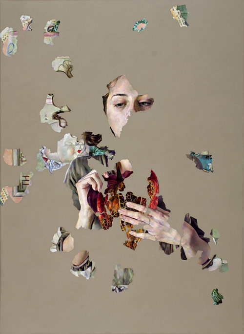 Artist painter Agnes Toth paintings