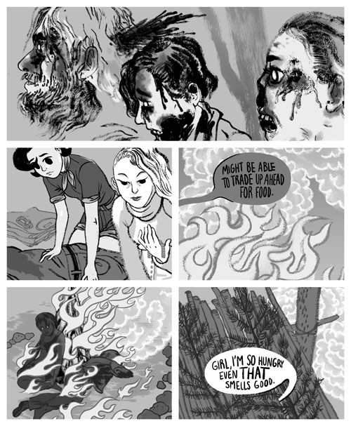 Girl Apocalypse comic by Angie Wang