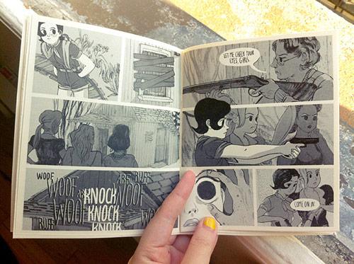 Girl Apocalypse comic by Angie Wang