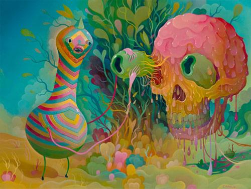 Artist painter Charlie Immer