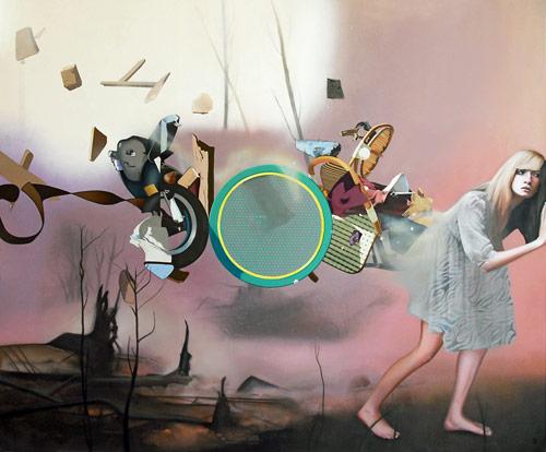 Artist painter Fraser Gray