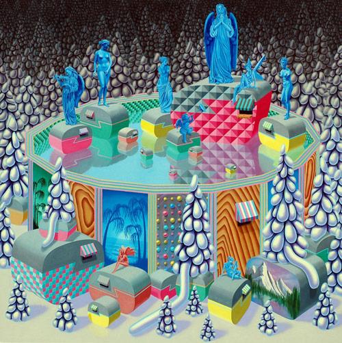 Artist painter Jaime Treadwell paintings