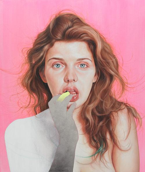 Artist painter Jenny Morgan