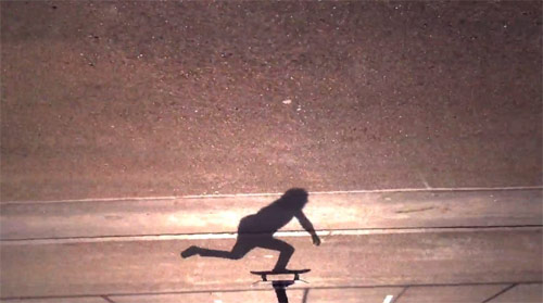 Peter Brings the Shadow to Life skateboard video by Joe Pease