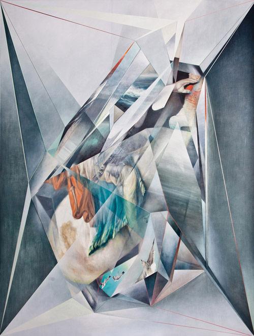 Artist painter Jonathan Saiz