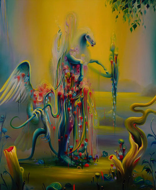 Artist painter Michael Page paintings