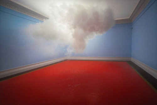 Artist Berndnaut Smilde makes real clouds inside gallery