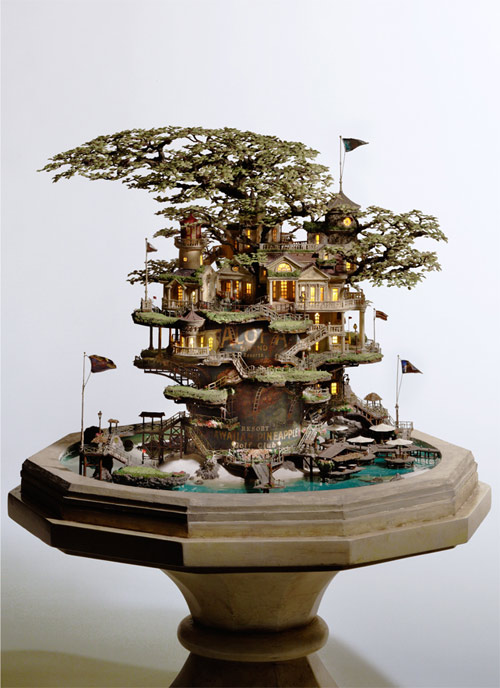Incredible miniatures by Takanori Aiba