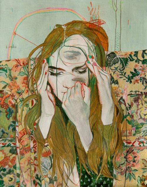Artist illustrator Alexandra Levasseur