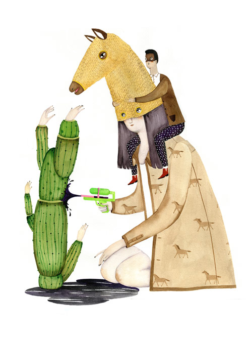 Artist painter Andrea Wan