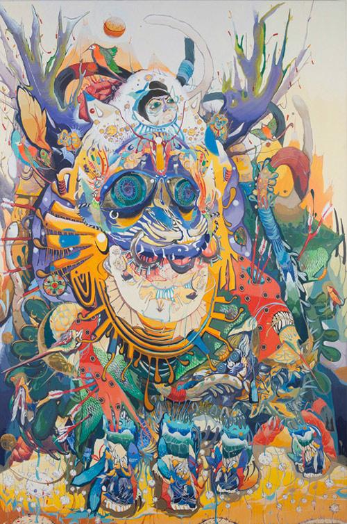 Artist painter Mi Ju