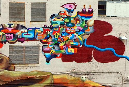 Beautiful mural by Nicolás SantiagoRomero Escalada aka Ever