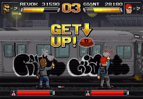 REVOK VS. GIANT video game by Lepos