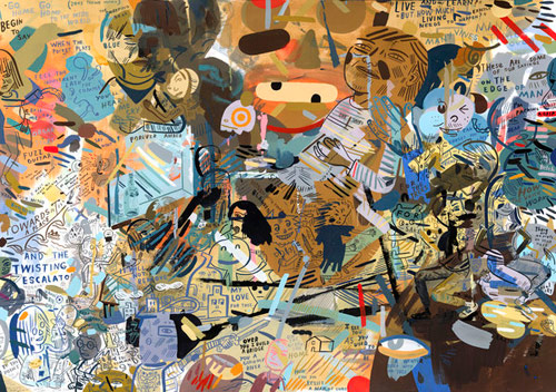 Artist painter Jason Jagel