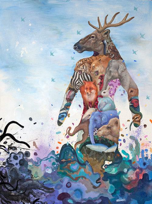 Artist painter Kisung Koh