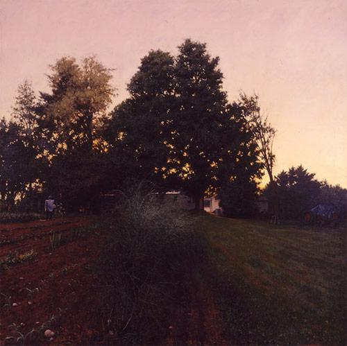 Artist painter Linden Frederick