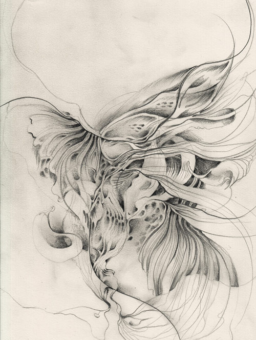 Drawings by artist Sougwen Chung