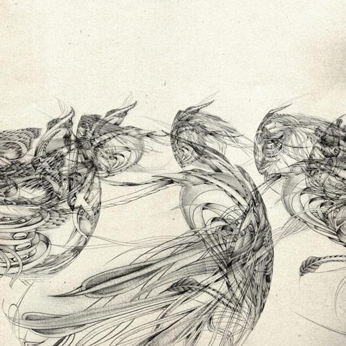 Drawings by artist Sougwen Chung