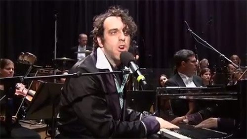 Chilly Gonzales Supervillain music live with orchestra in Vienna