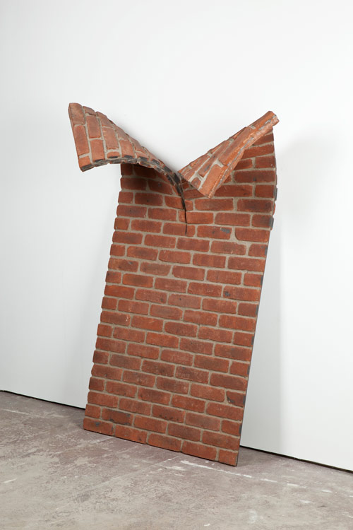 Sculptures and installations by artist Alex Chinneck