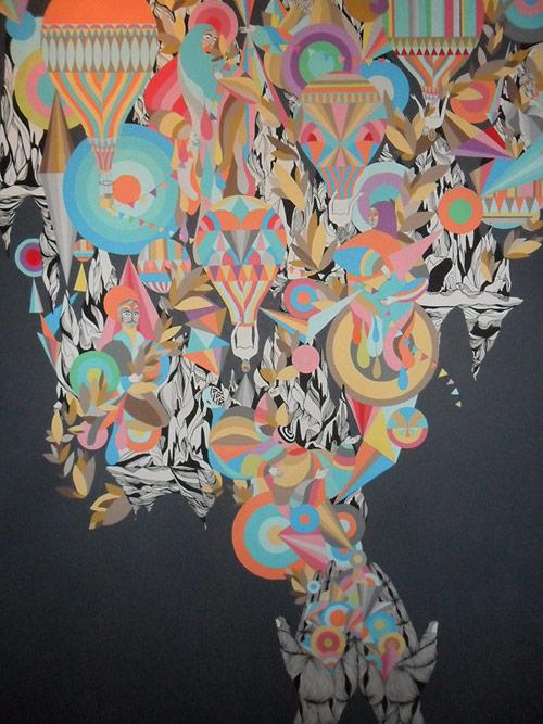 Artist painter David Orfé