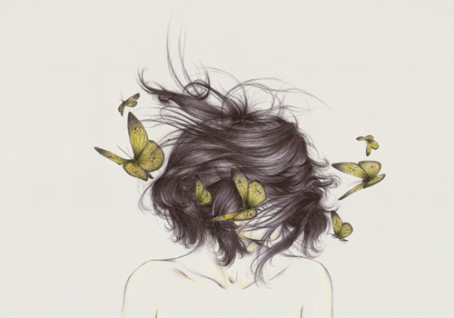 Artist illustrator Peony Yip