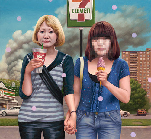 Artist painter Alex Gross