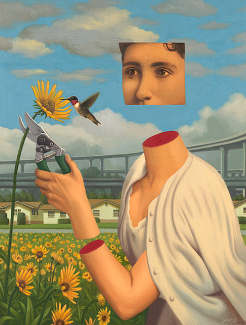 Artist painter Alex Gross