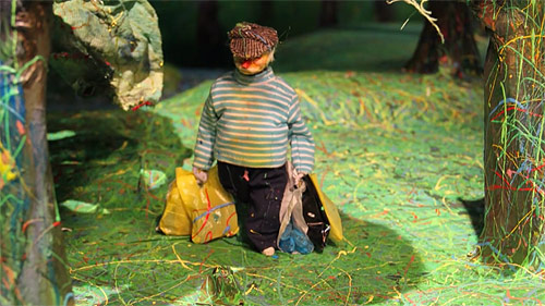 Eine murul  Breakfast on the Grass animation by Michael Rake