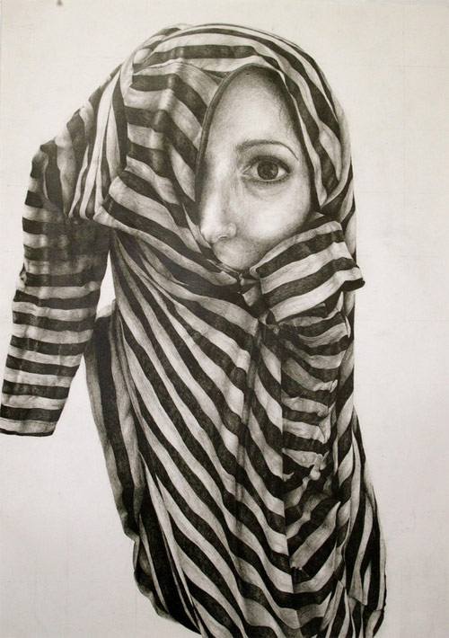 Drawings by artist Gillian Lambert