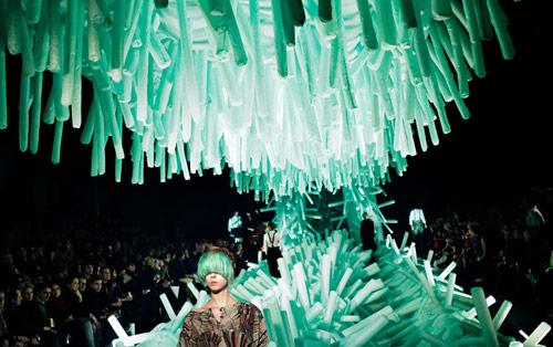 Artist fashion stage designer Henrik Vibskov