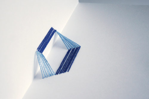 90º Typography Pop-Up Book
