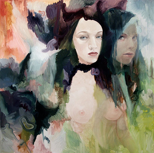 Paintings by artist Jen Mann