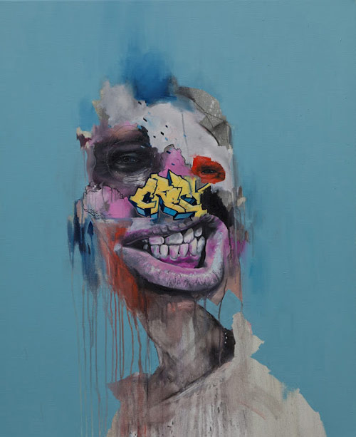 Artist painter Joram Roukes