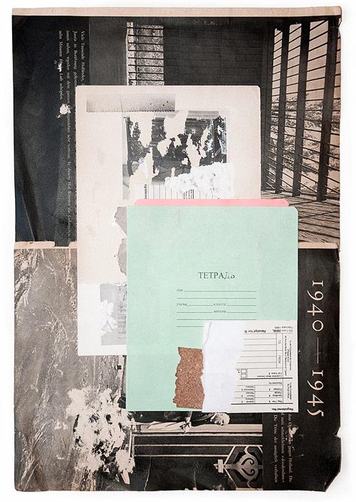 Collages by artist Kike Besada