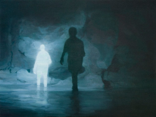 Artist painter Orion Fisher