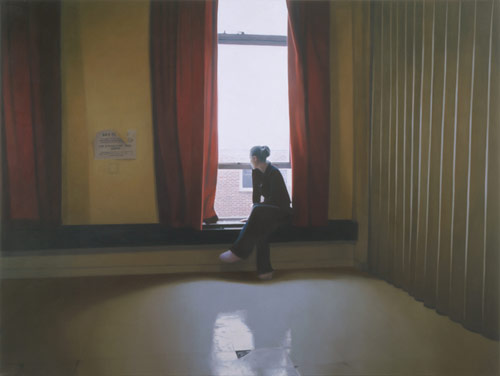 Artist painter Paul Winstanley