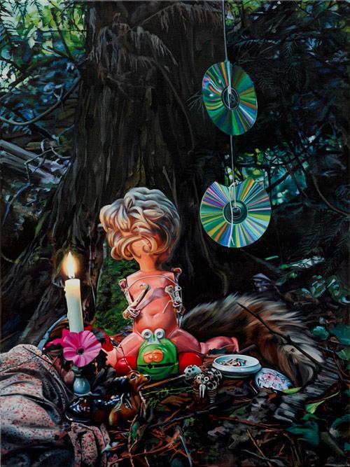 Artist painter Till Rabus