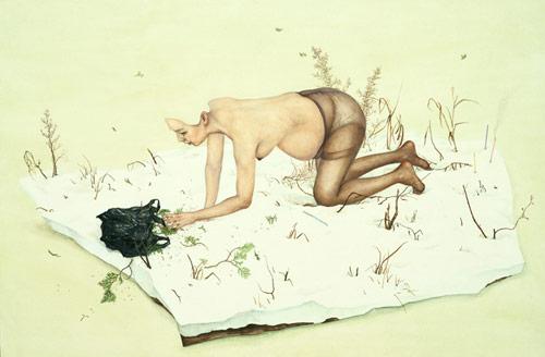 Artist painter Lee Jin Ju