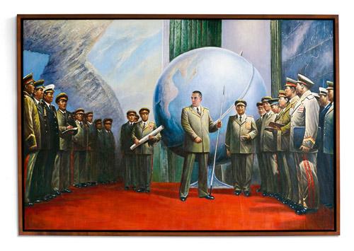 Kim Jong Phil project by artist Phillip Toledano