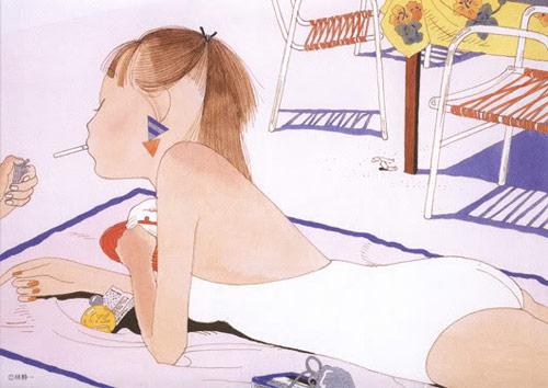 Artist illustrator Seiichi Hayashi
