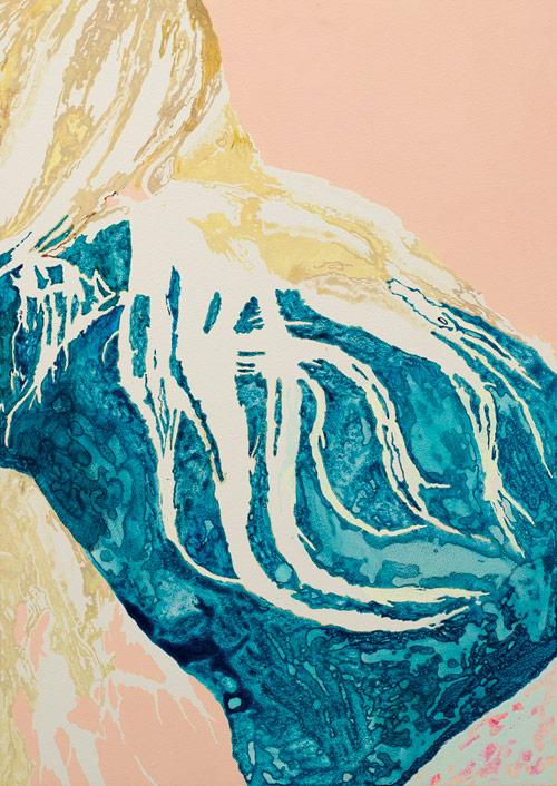 Artist painter Fredrik Akum