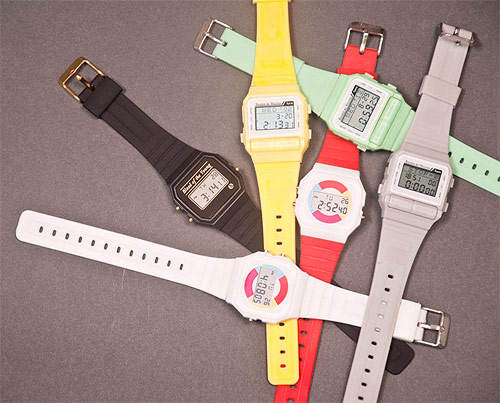 six watches by furni